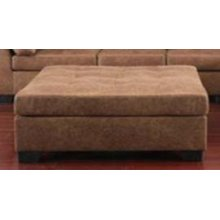 Darie Casual Golden Brown Ottoman