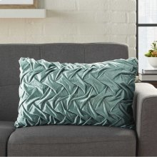 "Life Styles L0064 Celadon 14"" X 24"" Throw Pillows"