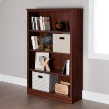 4-Shelf Bookcase - Royal Cherry