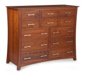 "Loft 12-Drawer Bureau, 60""w, Cherry #28 Bourbon, Loft 12-Drawer Bureau, 60""w, Cherry"