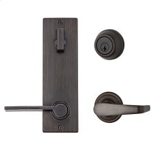 Contemporary Metal Interconnect With Kingston/Ladera Levers - Venetian Bronze