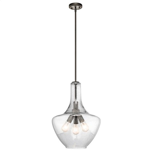 Everly Collection Everly 3 Light Pendant in Olde Bronze