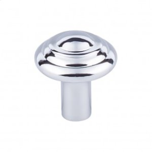 Aspen II Button Knob 1 1/4 Inch - Polished Chrome
