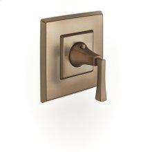 Thermostatic Valve Trim Leyden (series 14) Bronze