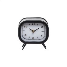 Small Tabletop Clock Black
