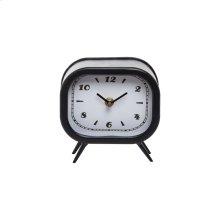 Small Tabletop Clock Black