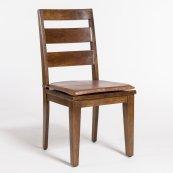 Mendocino Leather Seat Cushion