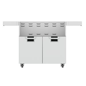 "Hestan36"" Aspire Tower Cart with Double Doors - ECD Series - Stealth"
