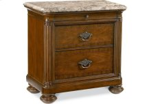 Ernest Hemingway ® Nairobi Night Stand (Marble Top)