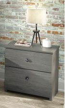 Gray Night Stand Product Image