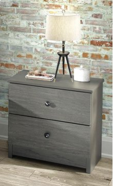 Gray Night Stand