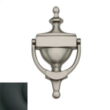 Satin Black Victorian Knocker