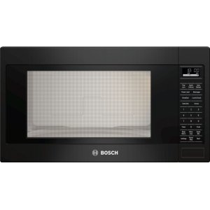 Bosch500 Series, 2.1 Cu Ft Built-in Microwave, Black