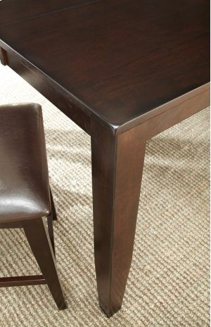 """Crosspointe Counter Table, 60""""x 42""""x60"""" w/18"""" Leaf"""
