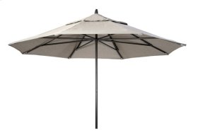 11' Powdercoat Aluminum Commercial Market Umbrella