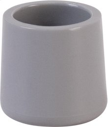 Grey Replacement Foot Cap for Plastic Folding Chairs
