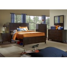 Summerfield 5-Pc. Full Bedroom Set - Bed, Dresser, Mirror, Nightstand, Chest