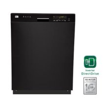 Semi-Integrated Dishwasher with Digital Status Display