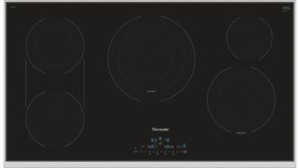 36 inch Masterpiece™ Series Electric Cooktop CET366TB
