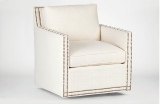 Carter Swivel Chair  Custom Tailored