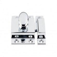 Cabinet Latch 2 Inch - Polished Chrome