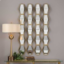 Jillian Mirrored Wall Decor