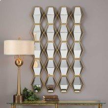 Jillian Mirrored Wall Decor