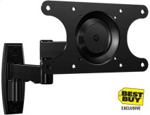"Full-Motion+ Wall Mount - For 13"" - 39"" flat-panel TVs - extends 15"" / 39.37 cm - Best Buy Exclusive"