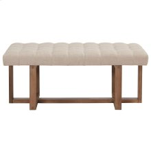 Tavis Double Bench in Beige