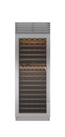 """30"""" Built-In Column Wine Storage"""