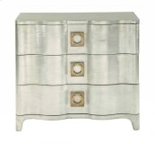 Salon Nightstand in Salon Antique Silver Leaf (341)