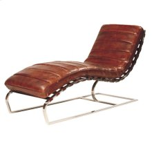 James Chaise Antique-brown