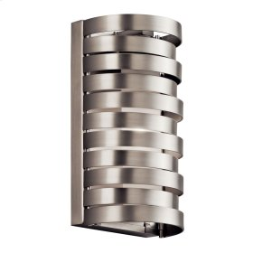 Roswell 1 Light Halogen Wall Sconce Brushed Nickel