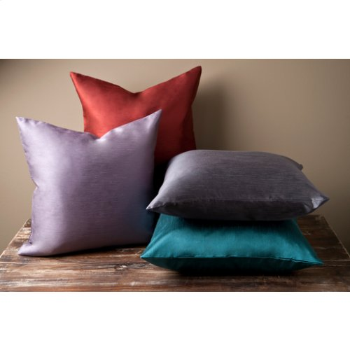"Solid Luxe HH-030 22"" x 22"" Pillow Shell with Polyester Insert"