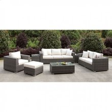 Somani 3 Pc Set + Ottoman + Bench + 2 End Tables