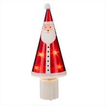 Santa with Stars LED Night Light.