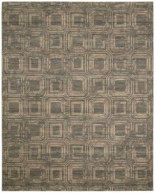 Silken Allure Slk24 Smoke Rectangle Rug 5'6'' X 8'