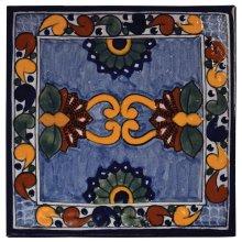 "4"" Asters Decorative Talavera Tiles"