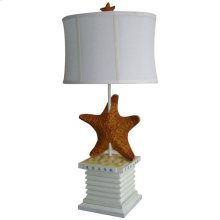 Starfish Table Lamp White