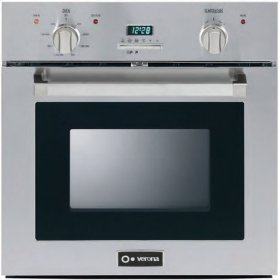 "Stainless Steel 24"" Self Cleaning Electric Oven"