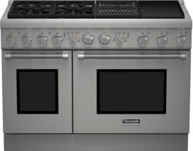 48 inch Professional Series Pro Harmony Standard Depth Dual Fuel Range PRD484NCHU