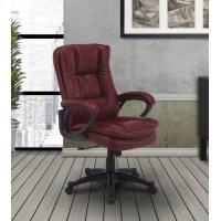 DC#204 Garnet Fabric Desk Chair Product Image