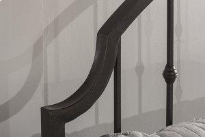 Westgate Headboard and Footboard - Queen - Rustic Black