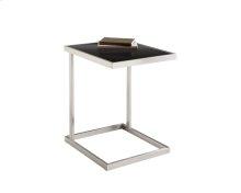 Nicola TV Table - Stainless Steel