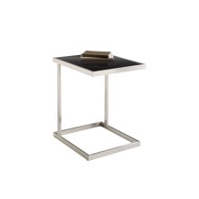 Nicola TV Table - Stainless Steel