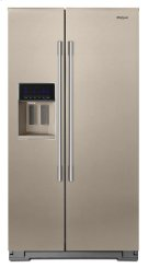 36-inch Wide Contemporary Handle Side-by-Side Refrigerator - 28 cu. ft. Product Image