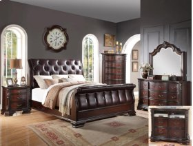 Sheffield Sleigh Queen Headboard