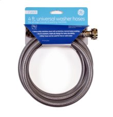 Stainless Steel Washer Hose - 2 pack