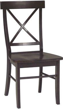 X Back Chair Rich Mocha