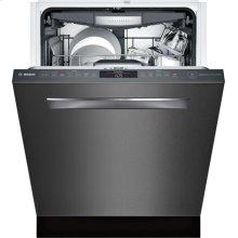 800 Series built-under dishwasher 24'' Black stainless steel SHPM78W54N